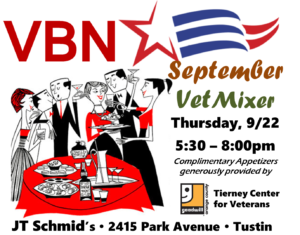 Next VBN Mixer is July 20th in Brea